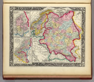Russia In Europe, Sweden, And Norway. 56. Map Of Denmark. 57. Map Of Holland and Belgium. 58. Entered ... 1860, by S. Augustus Mitchell, Jr. ... Pennsylvania.