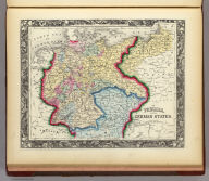 Prussia, And The German States. 66. Entered ... 1860, by S. Augustus Mitchell, Jr. ... Pennsylvania.