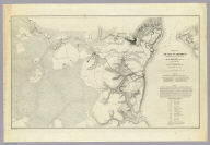 Official Plan of The Siege Of Yorktown Va. Conducted by the Army of the Potomac under the command of Maj. Gen. George B. McClellan U.S.A. April 5th to May 3rd 1862. Prepared under the direction of Brig. Gen J.G. Barnard Chief Engr. by Lieut. Henry L. Abbot Top. Engrs. A.D.C. ... Lith. by J.F. Gedney, Washn. Chas. G. Krebs, Engr.