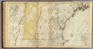 A Map of the most Inhabited part of New England, containing the Provinces of Massachusetts Bay and New Hampshire, with the Colonies of Conecticut And Rhode Island, Divided into Counties and Townships: The Whole composed from Actual Surveys and its Situation adjusted by Astronomical Observations. (with) A Plan of the Town of Boston. November 29th 1774. Published according to Act by Thos. Jefferys Geographer to His Royal highness the Prince of Wales near Charing Cross. (Northern section)