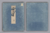 (Covers to) Shinto shishō zu. [18--?]