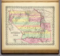 Territories Of New Mexico and Utah. Published By J.H. Colton & Co. No. 172 William St. New York. Entered ... 1855 by J.H. Colton & Co. ... New York. No. 51.