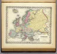 Europe. Published By J.H. Colton & Co. No. 172 William St. New York. Entered ... 1855 by J.H. Colton & Co. ... New York. No. 1.