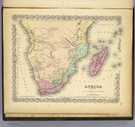 Africa Southern Sheet.