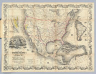 Map Of The United States The British Provinces Mexico &c. Showing the Routes of the U.S. Mail Steam Packets to California, & A Plan of the Gold Region. Published By J.H. Colton, 86 Cedar St. New York. 1849. Drawn & Engraved by J.M. Atwood. New York. Entered ... 1849 by J.H. Colton ... New York. (inset) Map Of The Gold Region. California. (untitled inset of South America).