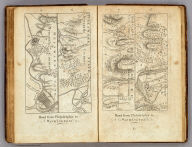 Road from Philadelphia to Washington. (Maps) 5, 6, 7 and 8. W. Harrison, Junr. sc.