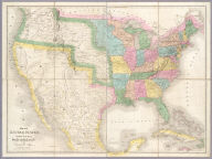 Map of the United States Of North America.