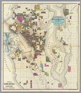 City Of Seattle And Environs.