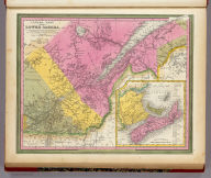 Canada East Formerly Lower Canada. (with) Nova Scotia New Brunswick &c. Published By S. Augustus Mitchell. N.E. Corner of Market & 7th Streets Philada., 1846.