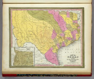 Map Of Texas From the most recent authorities. (with) Texas North Of Red River. Philadelphia: Published by C.S. Williams N.E. corner of Market & 7th Streets. Entered ... 1845 by C.S. Williams ... Pennsylvania.