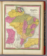 Brazil. (with) two inset maps: Paraguay and Environs of Rio Janeiro.
