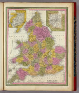 England. (with) three inset maps: Environs of Liverpool, ... London, Scilly Ids. Published By. S. Augustus Mitchell. N.E. corner of Market & 7th Streets PHilada. 1846.