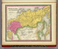 Russia In Asia And Tartary. (with) Western Part Of Russia.