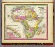 Africa By H.S. Tanner. (with) two inset maps: Liberia and Monrovia.