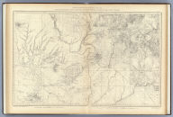 SW. Colorado and Parts of New Mexico, Arizona and Utah. U.S. Geological and Geographical Survey of the Territories. F.V. Hayden in Charge. G.B. Chittenden and A.D. Wilson, Topographical Assistants. Surveyed in 1874 & '75. Sheet IX.