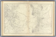 Southern Central Colorado and Part of New Mexico. U.S. Geological and Geographical Survey of the Territories. F.V. Hayden in Charge. A.D. Wilson, Topographical Assistant. Surveyed in 1874 & '75. Sheet X.