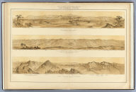 Panoramic Views. W.H. Holmes. U.S. Geological and Geographical Survey of the Territories. F.V. Hayden in Charge. Sheet XIX.