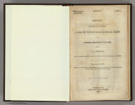 (Title Page to) Report Intended To Illustrate A Map Of The Hydrographical Basin of the Upper Mississippi River, Made by I.N. Nicollet ... February 16, 1841. Washington: Blair and Rives, Printers. 1843. [Senate.] 26th Congress, 2d Session. [237].