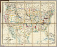 Stanford's New Large-Print Map Of The United States Of North America. Distinguishing The Cities & Towns According To Population &c. And Shewing The Boundary Of The Seceded States. London: Edward Stanford, 6, Charing Cross, May 13th 1861. Constructed & Engrd. at Stanford's Geographical Establishmt. London.