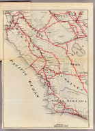 (Untitled map of the Central Coast area including San Benito, Fresno, Monterey, San Luis Obispo, Kings, Kern, and Santa Barbara Counties.)