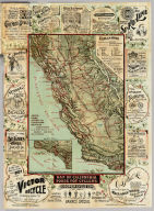Map of California Roads for Cyclers.
