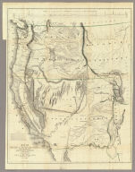 Map Of Oregon And Upper California From the Surveys of John Charles Fremont And other Authorities. Drawn By Charles Preuss Under the Order of the Senate Of The United States, Washington City 1848. Lithy. by E. Weber & Co. Balto. (inset) Profile of the travelling route from the South Pass of the Rocky Mountains to the Bay of San Francisco.