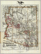Official Map Of The Territory Of Arizona Compiled from Surveys, Reconnaissances and other Sources. By E.A. Eckhoff And P. Riecker, Civil Engineers, 1880. Drawn by Eckhoff & Riecker. The Graphic Co. Photo-Lith. 39 & 41 Park Place, N.Y. Entered ... 1879, by Emil Eckhoff and Paul Riecker ... Washington, D.C.