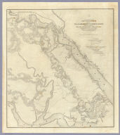 Campaign Map, Army Of The Potomac. Map No. 2 Williamsburg To White House. Prepared By Command Of Maj. Gen. George B. McClellan, U.S.A. Commanding Army Of The Potomac Brig. Gen. A.A. Humphreys ... Compilation under the Direction of Brig. Gen. A.A. Humphreys, By Capt. H.L. Abbot, Top. Engrs. Engraved by W.H. Dougal.