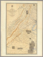 Map of the Region between Gettysburg, Pa. and Appomattox Court House, Va.