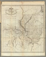 Map of the States of Illinois & Missouri by Lewis C. Beck, A.M. Balch, Rawdon & Co. Sc.