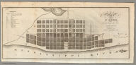 Plan of St. Louis, Including the late Additions. Engraved for Beck's Gazetteer 1822.