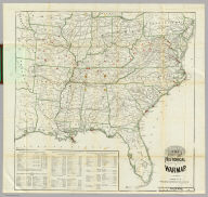 The Historical War Map. Asher & Co. Entered ... 1862, by Asher & Co. ... Indiana. E.R. Jewett & Co. Engravers, Buffalo, N.Y.