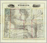 Holt's New Map Of Wyoming. Compiled by permission from official records in U.S. Land Office. Published by G.L. Holt, Cheyenne, Wyo. Frank & Fred Bond, Draftsmen. 1885. Entered ... 1883 by Geo L. Holt ... Washington D.C. Engraved & Printed by G.W. & C.B. Colton & Co. New York.