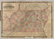 Colton's New Topographical Map of The States Of Virginia, Maryland and Delaware, Showing Also Eastern Tennessee & Parts Of Other Adjoining States, All the Fortifications, Military Stations, Rail Roads, Common Roads and other Internal Improvements Compiled from the Latest & most Authentic Sources, On A Scale of 12 Miles to the Inch. Published By J.H. Colton, No. 172 William St. New York. Entered ... 1862, by J.H. Colton ... New York. Printed by Lang & Laing Lith 117 Fulton St. New York.