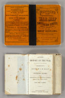 (Covers to) Perrine's New Topographical War Map Of The Southern States. Taken from the latest Government Surveys and Official Reports. E.R. Jewett & Co., Engravers, Buffalo, N.Y. Entered ... 1863, by C.O. Perrine ... Indiana. (inset) Southern Part Of Florida.