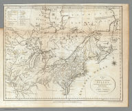 A Map of the Northern and Middle States, Comprehending the Western Territory and the British Dominions in North America. from the best Authorities. Engraved by G. Allen, Sadlers Wells Row, Islington. Engraved for Morse's Geography, Published by J. Stockdale Jany. 25, 1792.