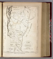 A Map of Vermont. I. Mutlow Sc. Published Octr. 2d, 1794, by I. Stockdale, PIccadilly.