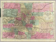 Nell's Topographical & Township Map of the State of Colorado. Compiled from U.S. Government Surveys & other authentic Sources. Washington D.C. 1884. Chain & Hardy, Agents. 414 Larimer Str. Denver. Entered ... 1881, by Louis Nell ... Washington D.C. Am. Photo-Litho. Co. N.Y.