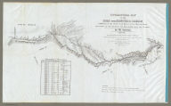 Topographical Map Of The Road From Missouri To Oregon, Commencing At The Mouth Of The Kansas In The Missouri River And Ending At The Mouth Of The Wallah Wallah In The Columbia. In VII Sections. Section I. From the field notes and journal of Capt. J.C. Fremont, and from sketches and notes made on the ground by his assistant Charles Preuss. Compiled by Charles Preuss, 1846 By order of the Senate of the United States ... Lithogr. by E. Weber & Co. Baltimore ...