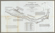 Topographical Map Of The Road From Missouri To Oregon, Commencing At The Mouth Of The Kansas In The Missouri River And Ending At The Mouth Of The Wallah Wallah In The Columbia. In VII Sections. Section VI. From the field notes and journal of Capt. J.C. Fremont, and from sketches and notes made on the ground by his assistant Charles Preuss. Compiled by Charles Preuss, 1846 By order of the Senate of the United States ... Lithogr. by E. Weber & Co. Baltimore ...