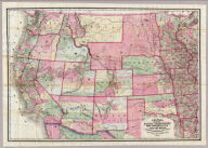 Colton's Map Of The States And Territories West Of The Mississippi River To The Pacific Ocean Showing The Overland Routes, Projected Rail Road Lines &c. Published By J.H. Colton, No. 172 William St. New York. 1864. Entered ... 1864, by J.H. Colton ... New York.