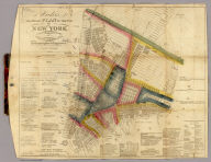 Hooker's New Pocket Plan Of The City Of New York.
