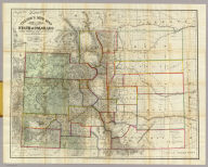 Thayer's New Map Of The State of Colorado Compiled From Official Surveys And Explorations. Published by H.L. Thayer, Denver Col. 1880. Established in 1871. Drawn By Edward Rollandet. Entered ... 1878 by H.L Thayer ... Washington.