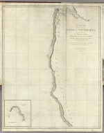 A chart shewing part of the Coast of N.W. America, with the tracks of His Majesty's Sloop Discovery and armed tender Chatham, Commanded by George Vancouver Esq. and prepared under his immediate inspection by Lieut. Joseph Baker, in Which the Continental Shore has been finally traced and determined from Latd. 38¼15'N. and Longd. 237¼27'E. to Latd. 45¼46'N. and Longd. 236¼15'E. Engraved by B. Baker Islington. Plate 3. (with) Bay of Trinidad. London, published May 1, 1798 by J. Edwards Pall Mall, and G. Robinson Paternoster Row.