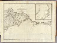 A Chart Shewing part of the Coast of N.W. America, With the Tracks of His Majesty's Sloop Discovery and Armed Tender Chatham, Commanded by George Vancouver Esqr. and prepared under his immediate inspection by Lieut. Joseph Baker, in which the Continental Shore has been traced and determined from Latd. 59¼45'N. and Longd. 219¼30'E. to Latd. 59¼56'N and Longd. 212¼08'E. at the periods shewn by the Track. No. 11. (with) A Survey of Port Chalmers. Engraved by T. Foot, Weston Place, St. Pancras. London. Published May 1st 1798, by J. Edwards, Pall Mall & G. Robinson, Paternoster Row.