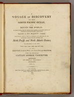Title Page: Voyage of discovery to the North Pacific Ocean.