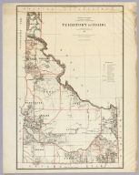 Department Of The Interior General Land Office J.A. Williamson, Commissioner. Territory Of Idaho. 1879. Compiled from the official Records of the General Land Office and other sources by C. Roeser, Principal Draughtsman G.L.O. Photo lith & print by Julius Bien 16 & 18 Park Place N.Y.