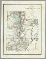 Department Of The Interior General Land Office J.A. Williamson, Commissioner. Territory of Utah. 1879. Compiled from the official Records of the General Land Office and other sources by C. Roeser, Principal Draughtsman G.L.O. Photo lith & print by Julius Bien 16 & 18 Park Place N.Y.