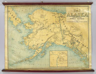 Map Of Alaska. Compiled And Published By Punnett Brothers, 625 Mission St. S.F. Cal. Copyrighted. (inset) Map Of Klondyke Mining District.