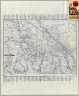 Rand McNally Official 1925 Auto Trails Map British Colombia. Copyright by Rand McNally & Company Chicago, Ill. Made in U.S.A.